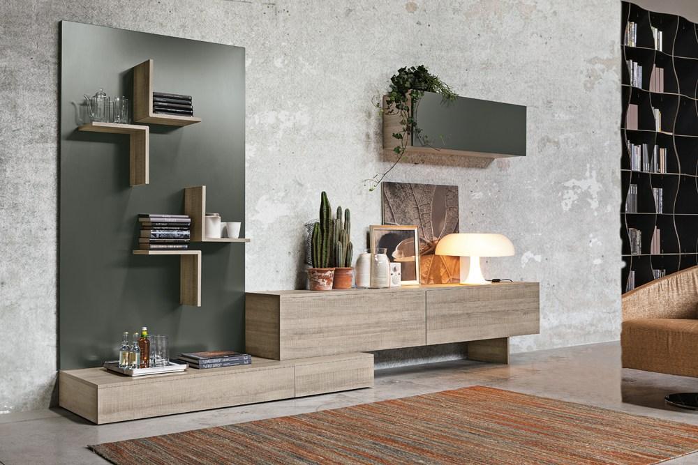 Il sistema Magnetika di Ronda Design: mensole, librerie e pareti ...