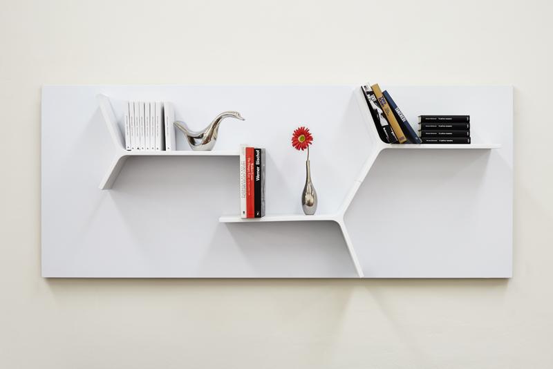 Il sistema magnetika di ronda design mensole librerie e - Porta decoder da parete ...