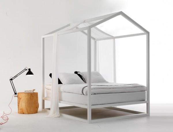 Camera da letto arredare con stile - Camera da letto con baldacchino ...