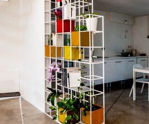 Librerie bifacciali per dividere e caratterizzare gli spazi di casa