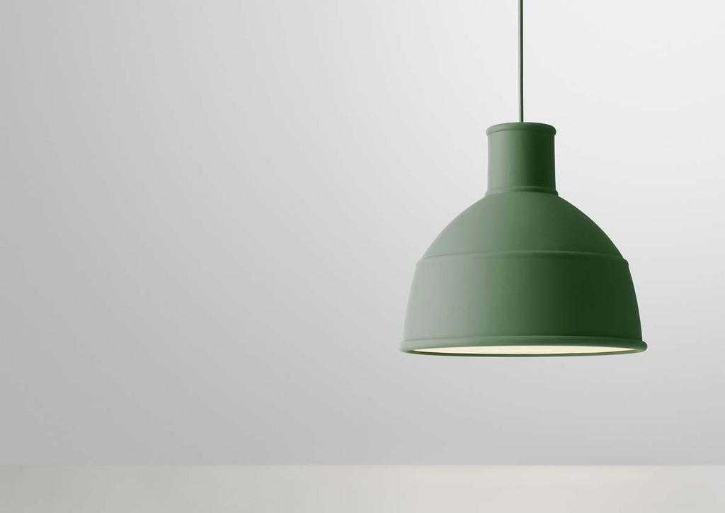 Lampada a sospensione in silicone Unfold by Muuto  Arredare con stile