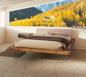 letto frame il design nella stanza da letto secondo il