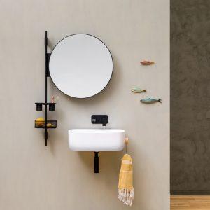 Un bagno moderno e funzionale con la barra attrezzata Prop
