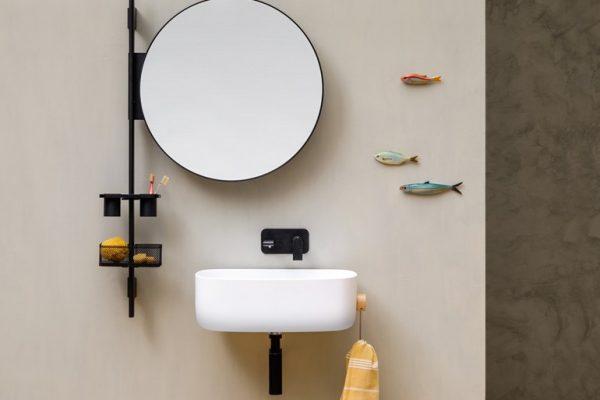 Specchio bagno rotondo u idea d immagine di decorazione