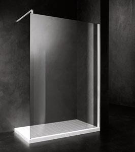 Doccia aperta con un solo vetro arredare con stile for Doccia aperta