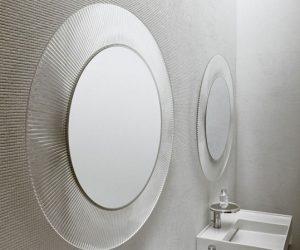 All Saints di Kartell, un grande specchio circolare per arredare