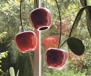 Lampada a sospensione cherry: una succosa ciliegia che pende dal soffitto