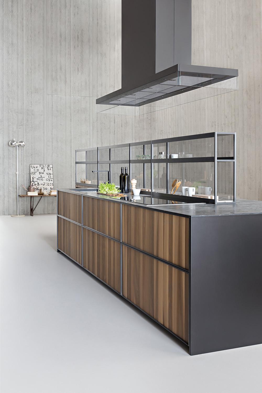 Mensole per cucina moderna mc mensola per tv con ripiano - Mensole acciaio per cucina ...