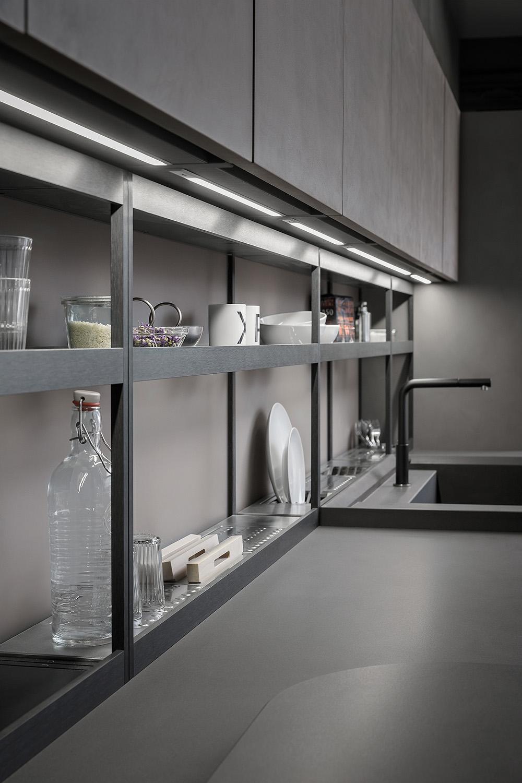 Mensole cucina top mensole cucina with mensole cucina for Mensole alluminio ikea