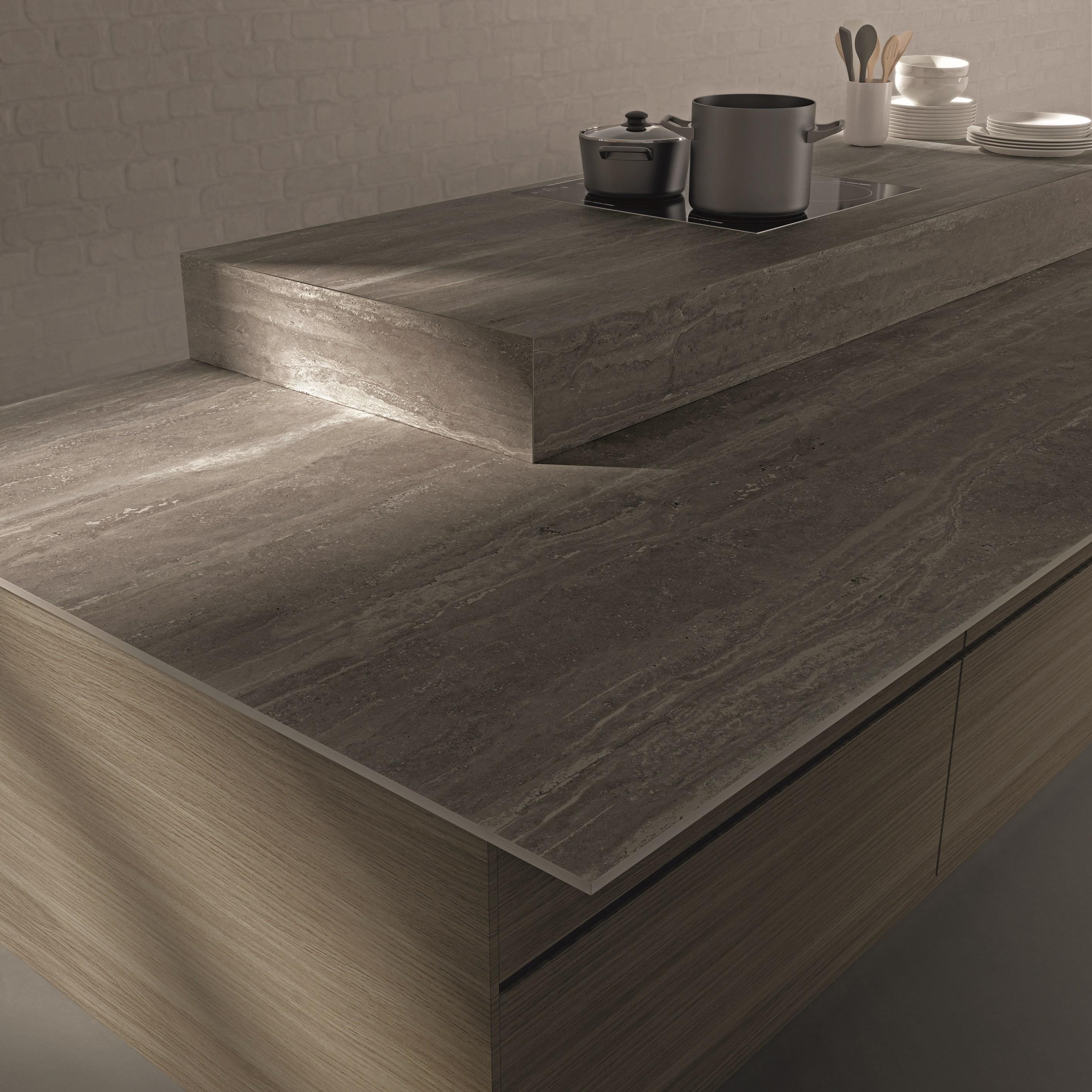 piano-cucina-gres-porcellanato-effetto-marmo | Arredare con stile