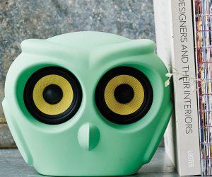 Speaker wireless Owl: una civetta che canta con gli occhi!