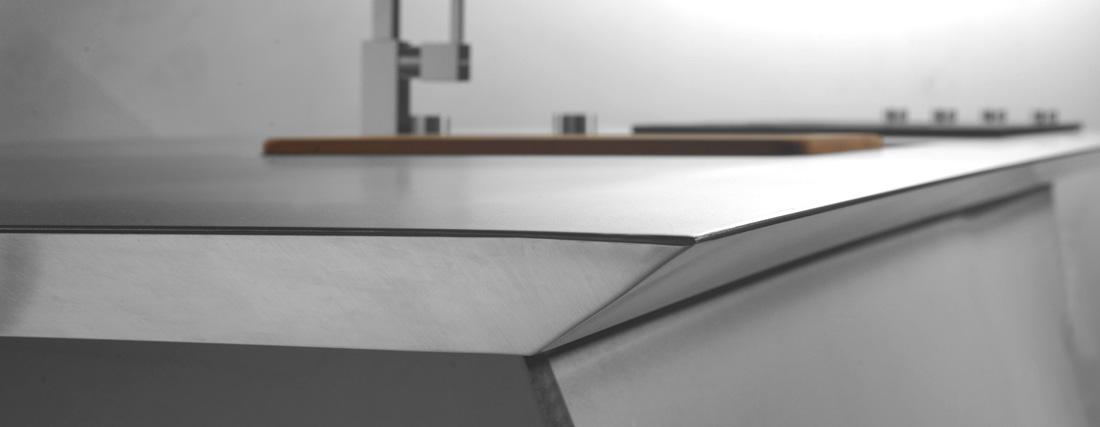 Awesome Piano Lavoro Cucina Acciaio Images - Ideas & Design 2017 ...