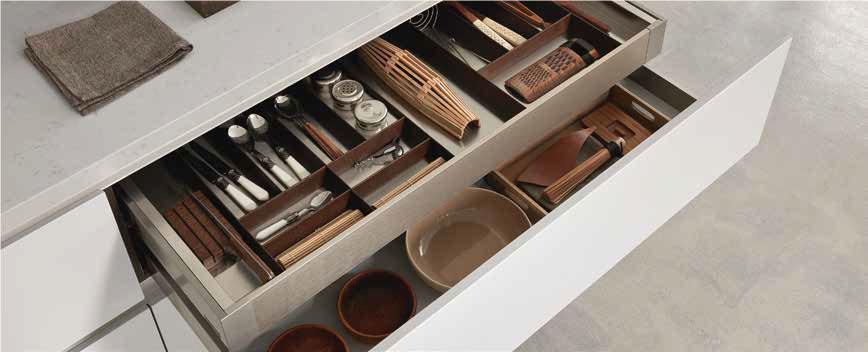 Comprex gli accessori per la cucina che fanno la differenza arredare con stile - Accessori per cassetti cucina ...