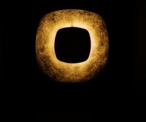 Effetti di luce suggestivi con la lampada Penombra di Antonangeli