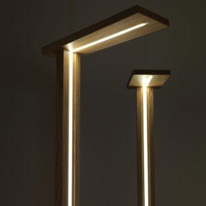 BELLONI BEWOOD DESIGN: EGIL, la lampada smart & touch