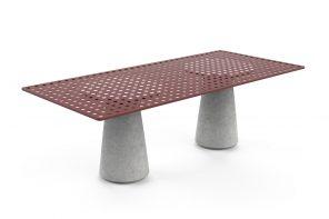 Tavolo outdoor in Pietra di Vicenza