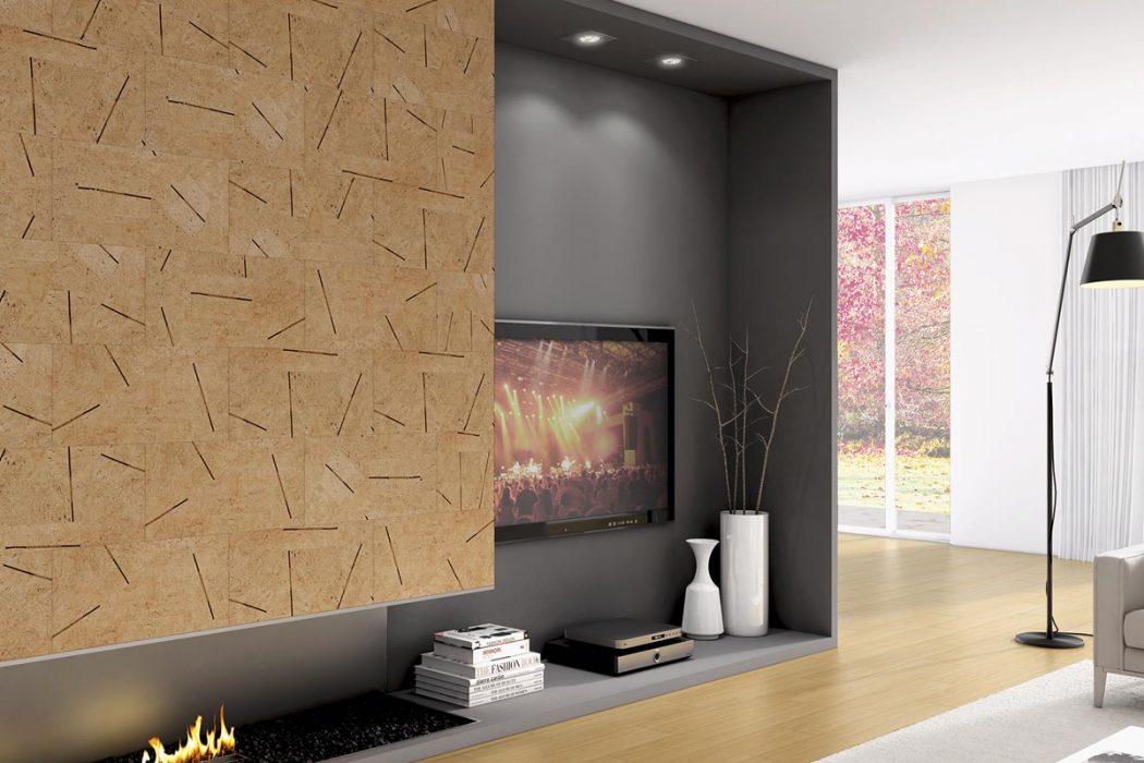 Arredare con il sughero sei pronto a portare la natura in casa arredare con stile - Rivestimento parete interna ...