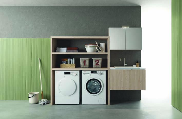 Vano Lavanderia In Bagno : Dieci nuove composizioni per drop la lavanderia di design made in