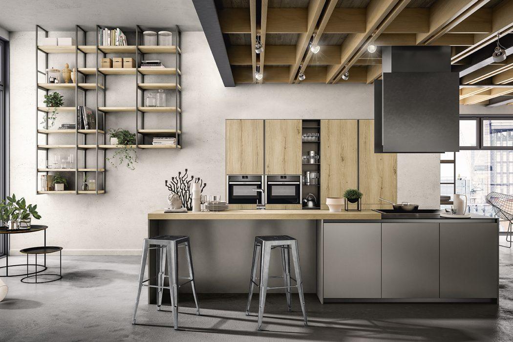 Design minimal e materiali ricercati per zetasei di for Arredo minimal home