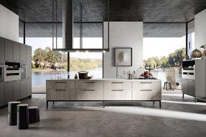 Arredo3 presenta Aria, la cucina leggera e raffinata